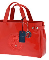 ARMANI-JEANS-Bag-Female-Red-05291554V-0