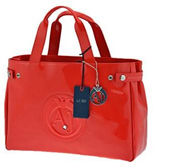 ARMANI-JEANS-Bag-Female-Red-05291554V-0