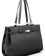 BOVARI-sac–main-Jackie-cuir-de-veau–imprim-saffiano-37x27x16cm-noir-0-0