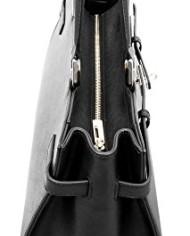 BOVARI-sac–main-Jackie-cuir-de-veau–imprim-saffiano-37x27x16cm-noir-0-1
