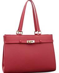 BOVARI-sac–main-Jackie-cuir-de-veau–imprim-saffiano-37x27x16cm-rouge-0-1