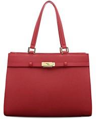 BOVARI-sac–main-Jackie-cuir-de-veau–imprim-saffiano-37x27x16cm-rouge-0