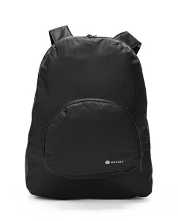 Delsey-Tn-Sac-A-Dos-Pliable-Bagage-Noir-Black-0