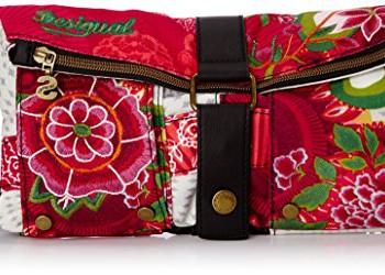 Desigual-Bols-Clutch-Floreada-Carry-Sac-bandoulire-Multicolore-3001-Fresa-Taille-Unique-0