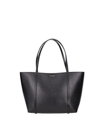 DolceGabbana-sac--lpaule-femme-en-cuir-veau-noir-0