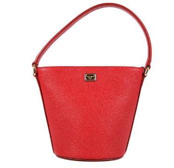 DolceGabbana-sac--main-femme-en-cuir-mini-rouge-0