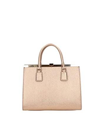 DolceGabbana-sac--main-femme-en-cuir-veau-impression-or-0