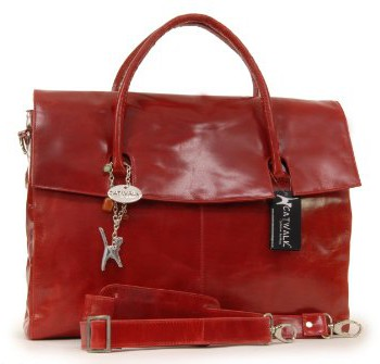 Grande-serviette-pour-PC-portable-Helena-signe-Catwalk-Collection-Rouge-0