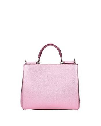Sac--main-DolceGabbana-Femme-Cuir-Rose-BB6012AC11680400-Rose-10x22x26-cmEU-0