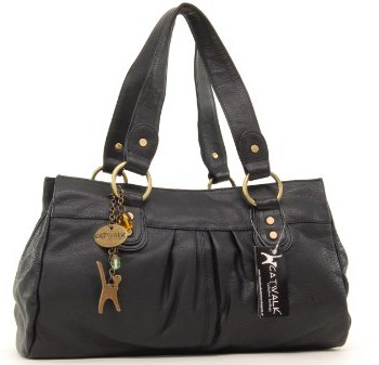 Sac--main-en-cuir-Bella-sign-Catwalk-Collection-Noir-0