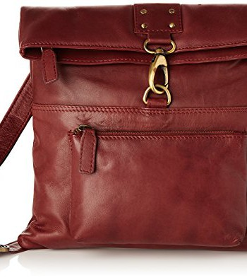 Sac-Besace-en-cuir-Dispatch-sign-Catwalk-Collection-Rouge-0