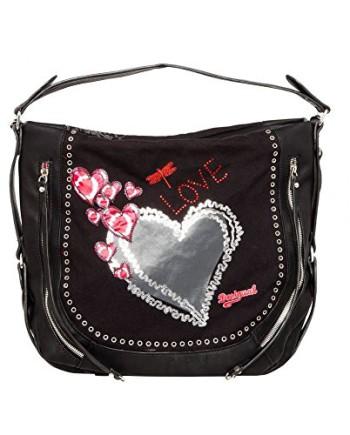 Taille-Unique-sac-desigual-bolsmarteta-heart-punk-noir-0