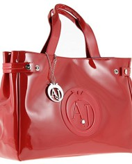 Armani-Jeans-Sac-Vernis-Femme-05291-55-A4-Rosso-Red-Tu-0-0