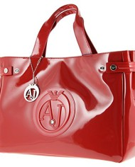 Armani-Jeans-Sac-Vernis-Femme-05291-55-A4-Rosso-Red-Tu-0-1