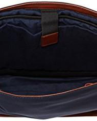 DELSEY-Sac-Bandoulire-Villiers-8-L-Bleu-Bleu-MarineMarron-001185145-0-3