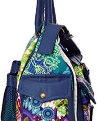 Desigual-Bols-London-Floreada-Carry-Sac-bandoulire-Multicolore-5060-Azul-Niza-Taille-Unique-0-1