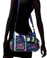 Desigual-Bols-London-Floreada-Carry-Sac-bandoulire-Multicolore-5060-Azul-Niza-Taille-Unique-0-4